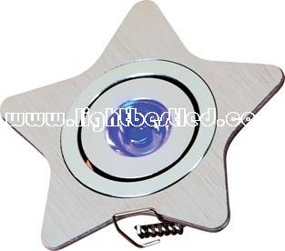 1x1w Star ceiling Light