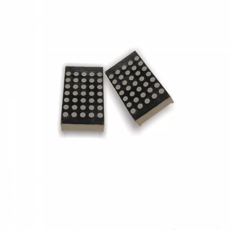 22.8*39.1mm 5x7 D1057 dot matrix led 3mm dot diameter