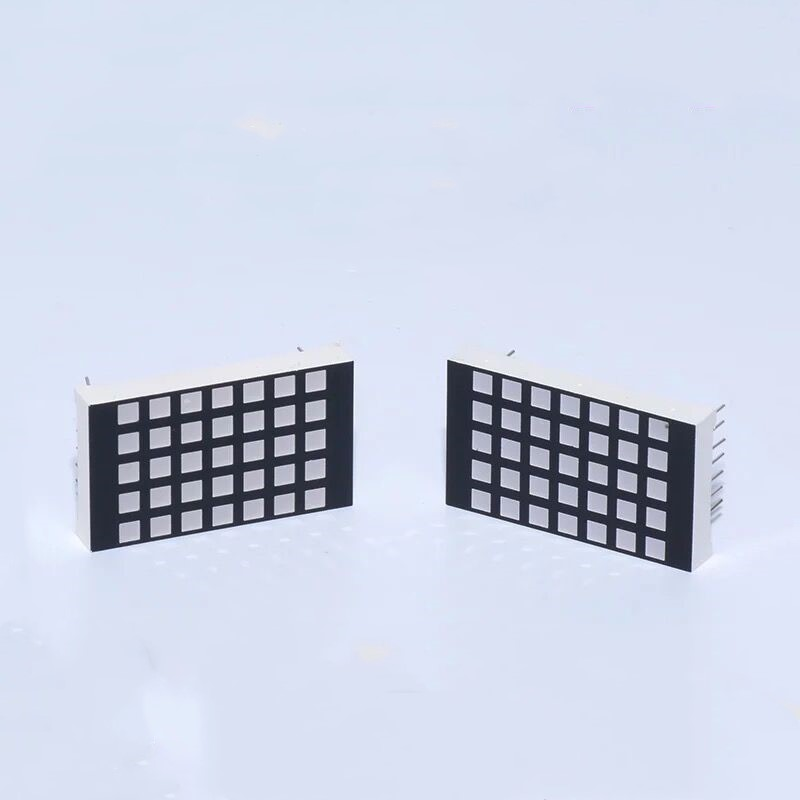 25.0*42.0mm 5x7 D1257 dot matrix led 3mm dot diameter