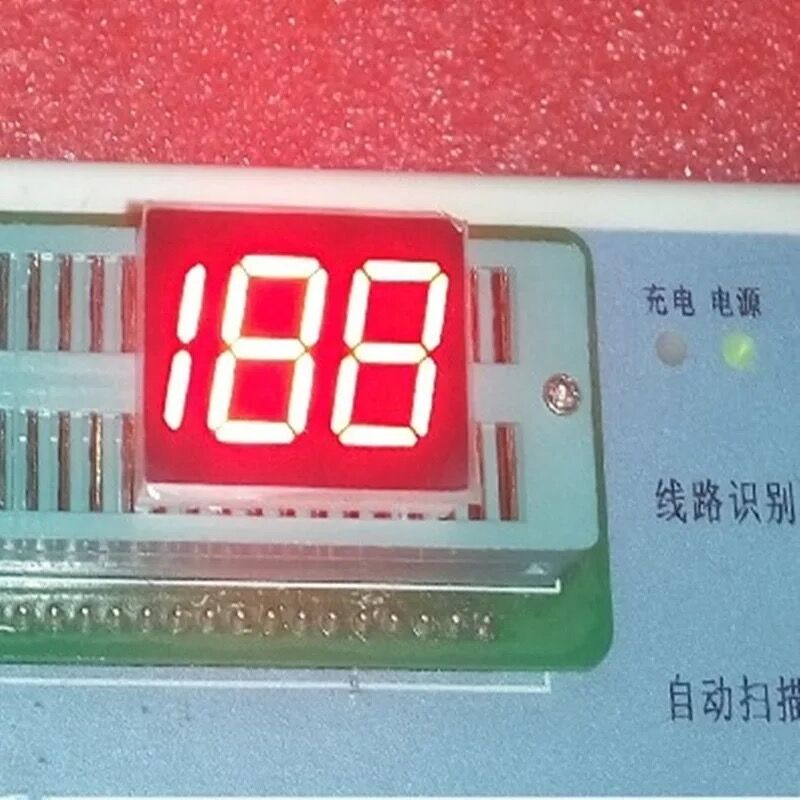 3 digit 0.5 inch led 7 segment display
